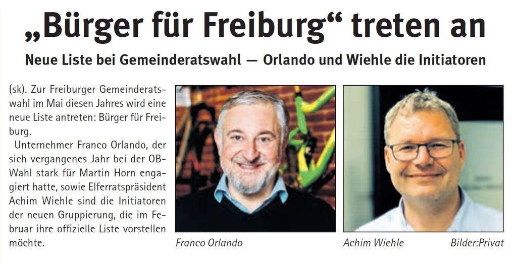 Stadtkurier Freiburg