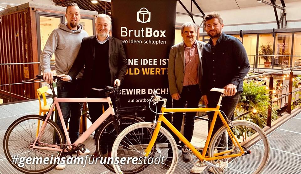 Besuch BrutBox
