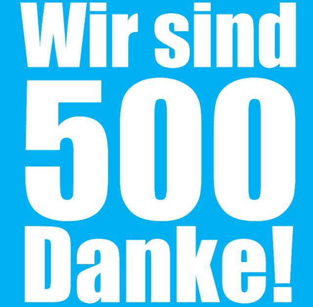500 Likes auf Facebook