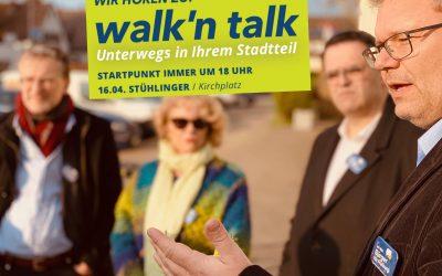 Walk'n Talk im Stühlinger