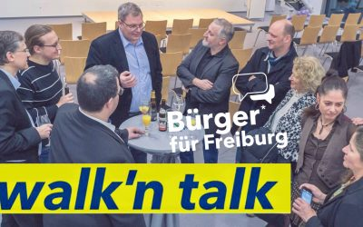 Walk'n Talk in der Wiehre